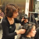 Yachad et Djamila, coiffeuse professionnelle