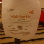Collecte alimentaire à Monoprix Paris 14 le 22 décembre 2012